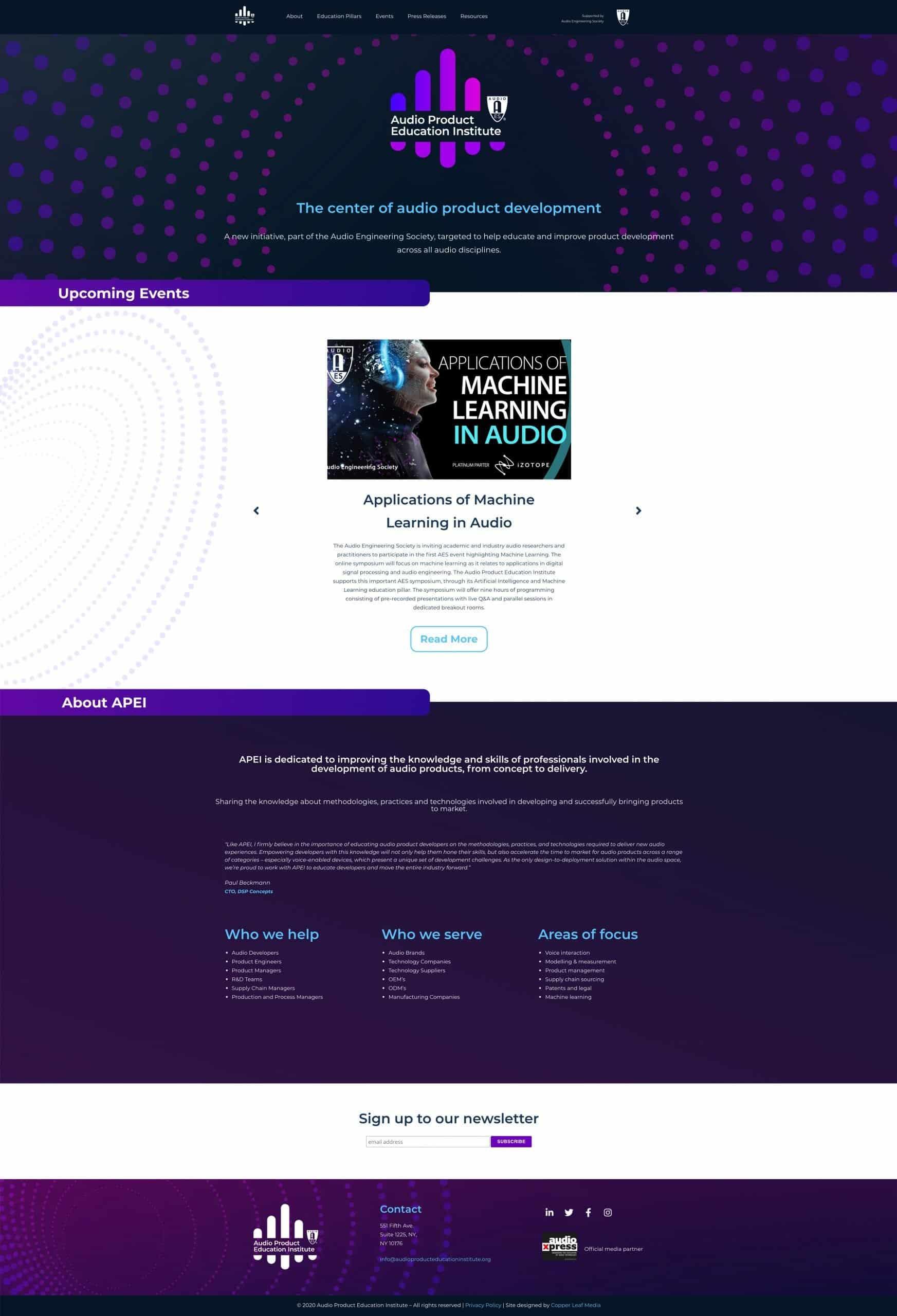 APEI Website