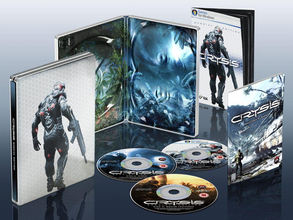 Crysis Case & Box Art Render